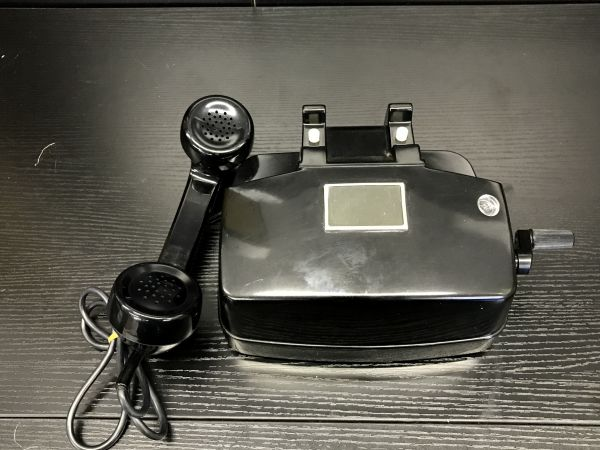 E234-aA109 黒電話 日本電信電話公社 電話機 41号M 現状品 昭和 レトロ ②_画像2