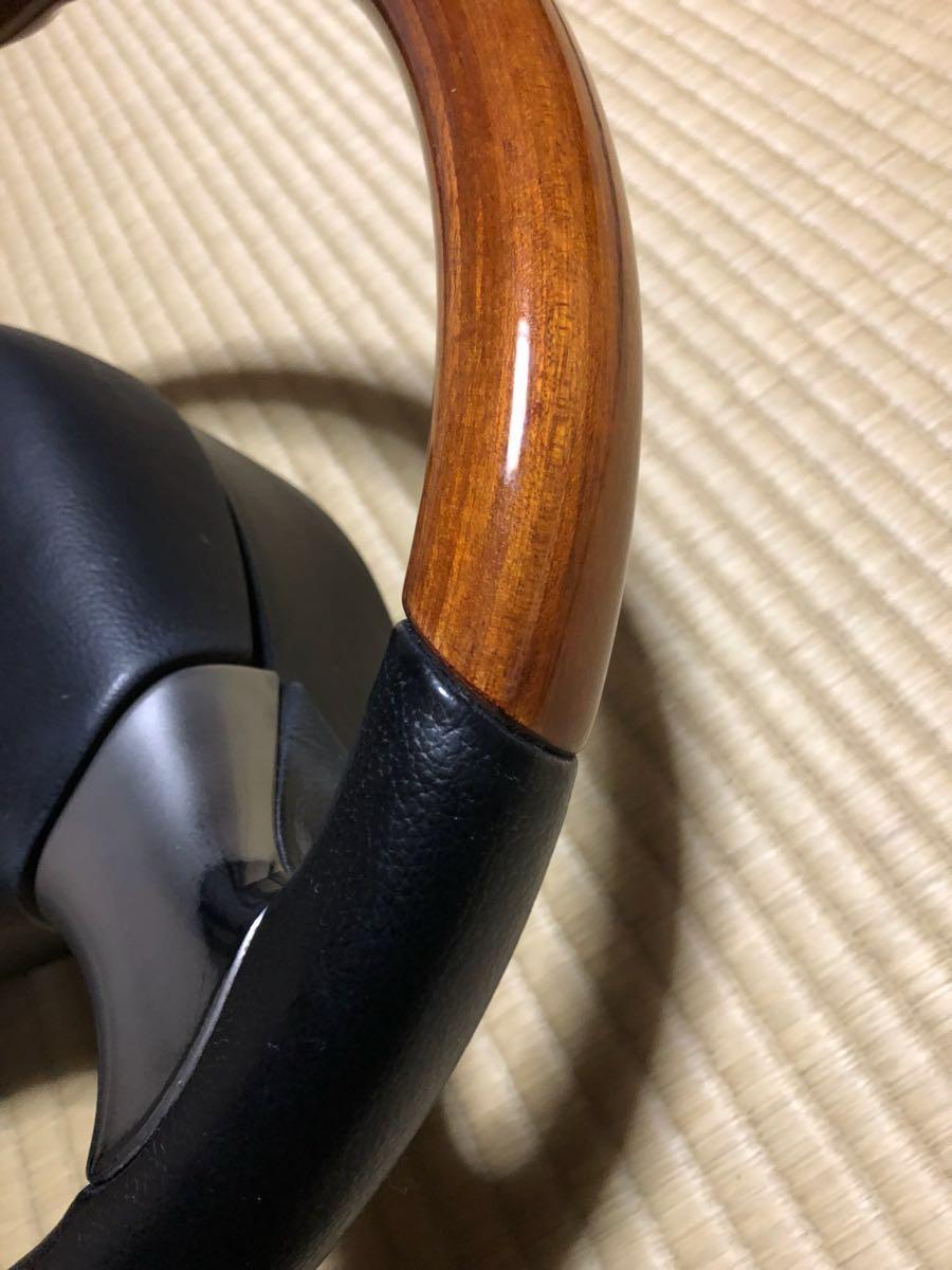 ☆ダイハツ モモステアリング ウッド☆_画像3