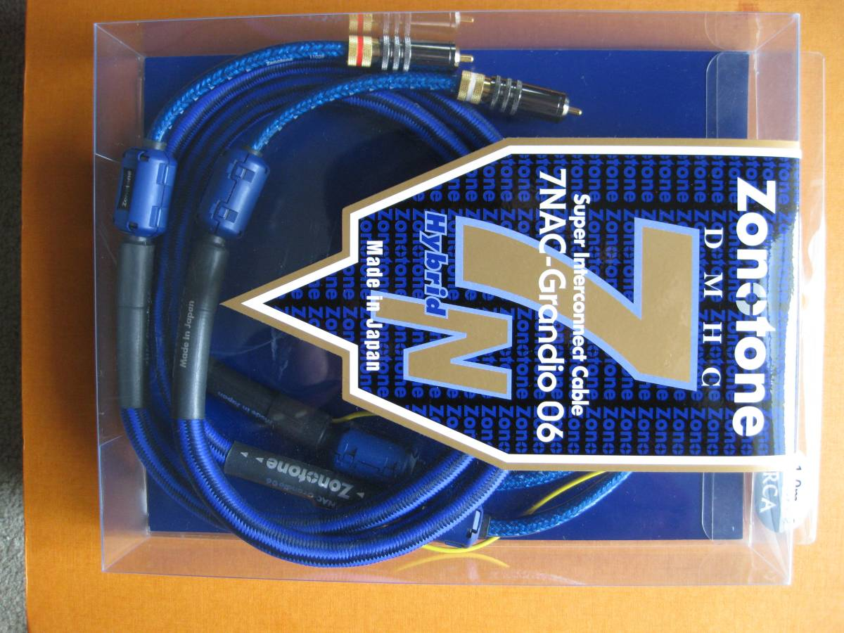 ZONOTONE ゾノトーン 7NAC-Grandio 06 RCAケーブル 1.0mペア