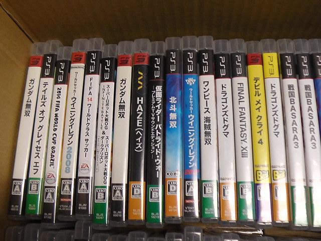 同梱不可/ジャンク品/PS3 ソフト/大量/まとめて100本以上セット_画像6