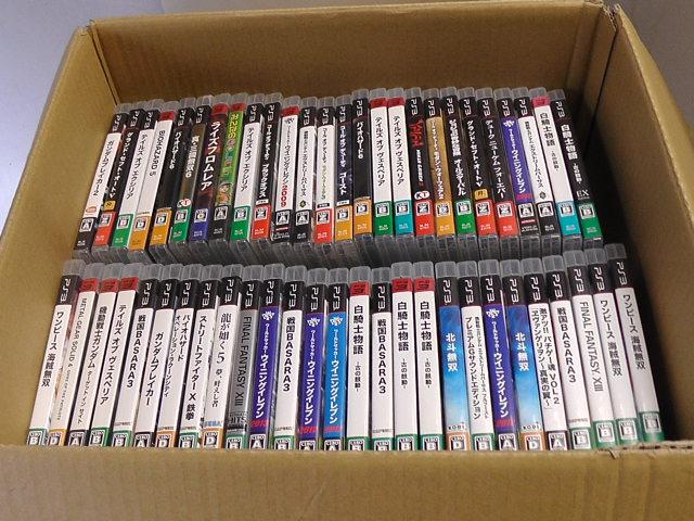 同梱不可/ジャンク品/PS3 ソフト/大量/まとめて100本以上セット