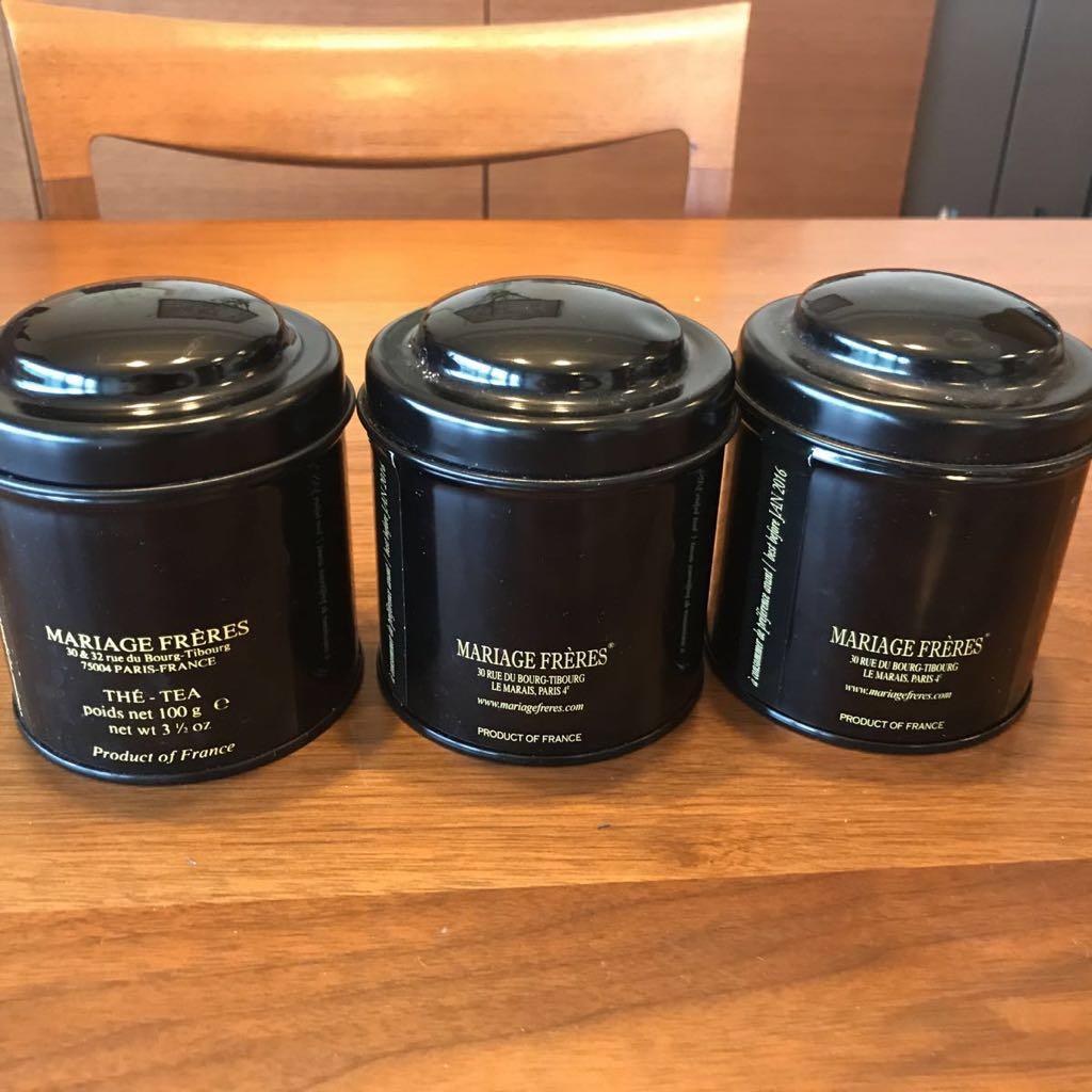 マリアージュフレール 紅茶空き缶 _画像2