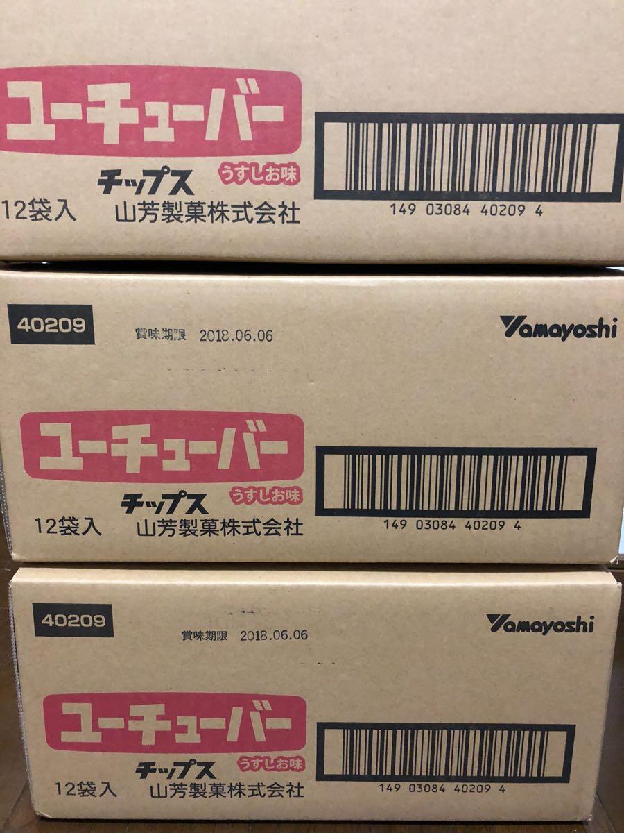 ユーチューバーチップス 新品未開封 3箱分36袋 送料無料