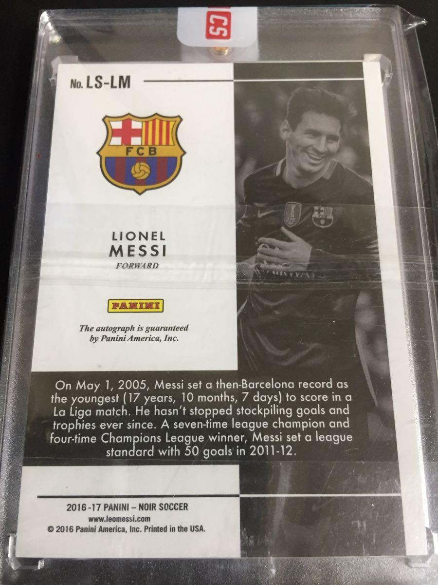 Lionel Messi NOIR/メッシ金ペン直筆オート(バルサ/アルゼンチン代表)_画像2