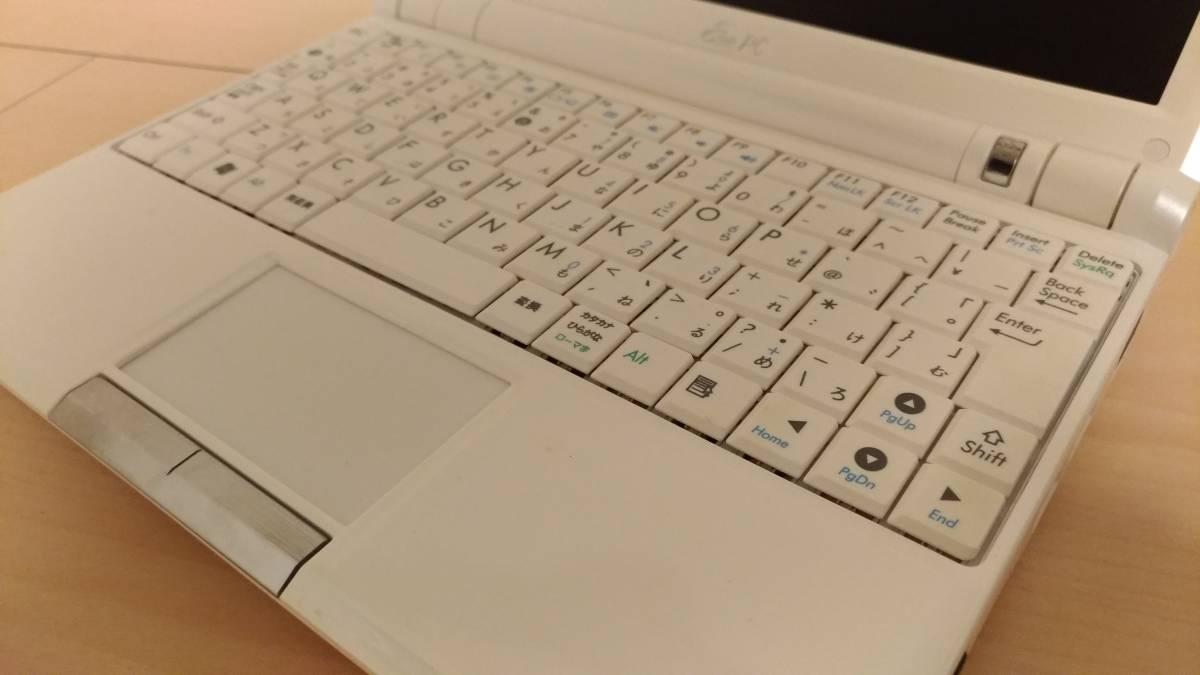 【中古】★ASUS(エイスース)Eee PC 900HA★Atom N270 1.60GHz★メモリー2GB増設 HDD16GB→32GB SSD交換済み_画像3