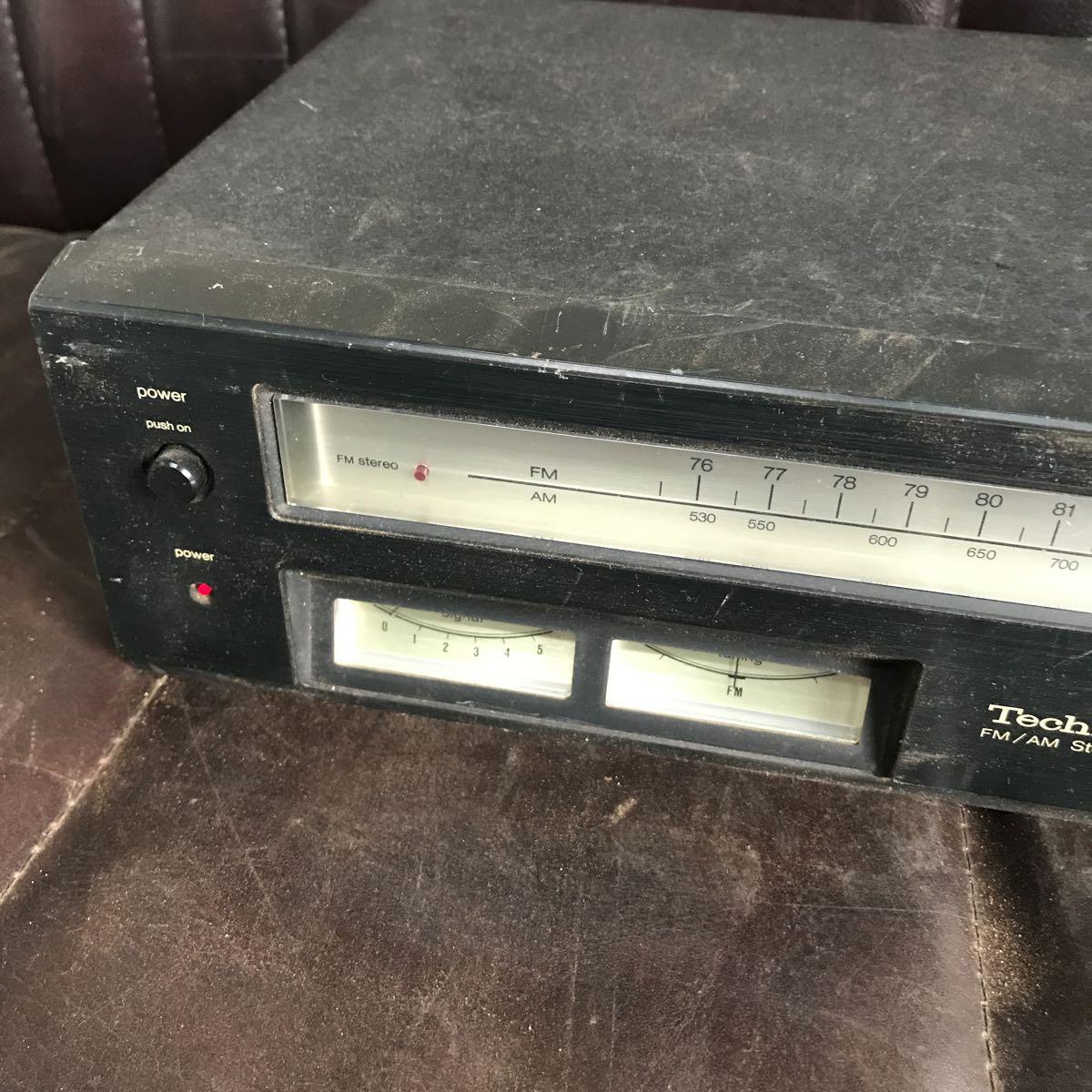 Technics テクニクス FM/AMチューナー ST-2400 通電のみ確認_画像3
