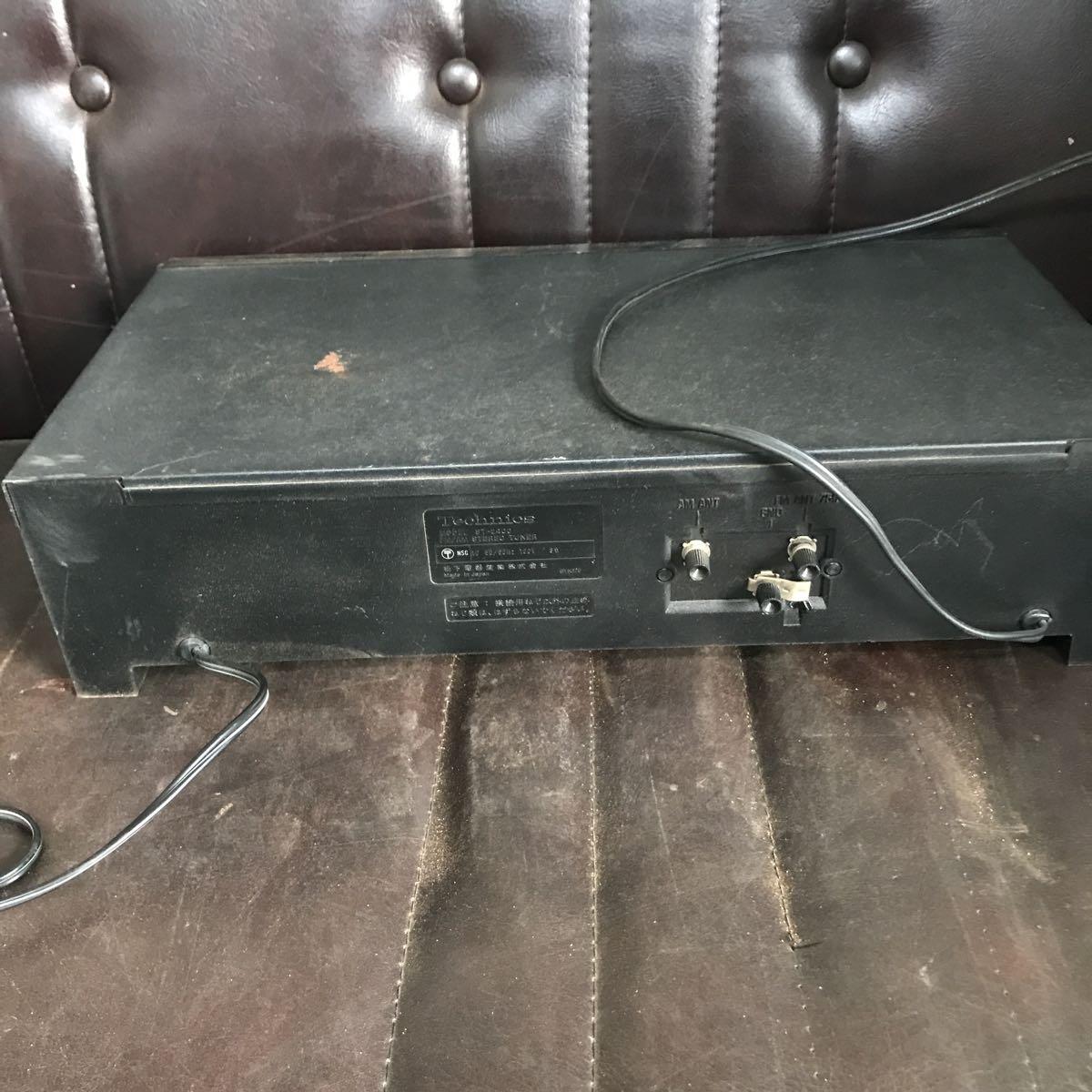 Technics テクニクス FM/AMチューナー ST-2400 通電のみ確認_画像7