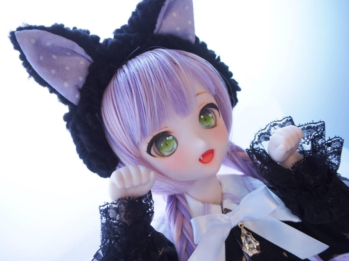 【Miel☆Magical】DDH-10 セミホワイト肌 カスタムヘッド+アイ2点+お洋服Set_画像7