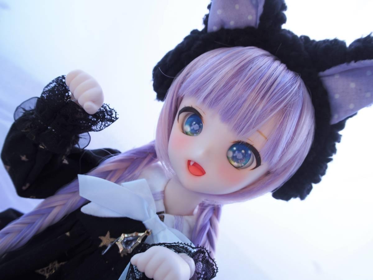 【Miel☆Magical】DDH-10 セミホワイト肌 カスタムヘッド+アイ2点+お洋服Set_画像8