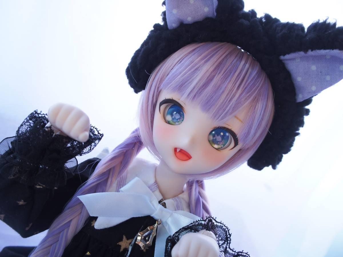 【Miel☆Magical】DDH-10 セミホワイト肌 カスタムヘッド+アイ2点+お洋服Set_画像9