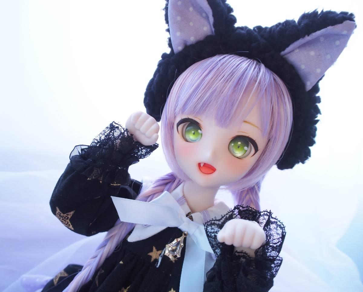 【Miel☆Magical】DDH-10 セミホワイト肌 カスタムヘッド+アイ2点+お洋服Set_画像5