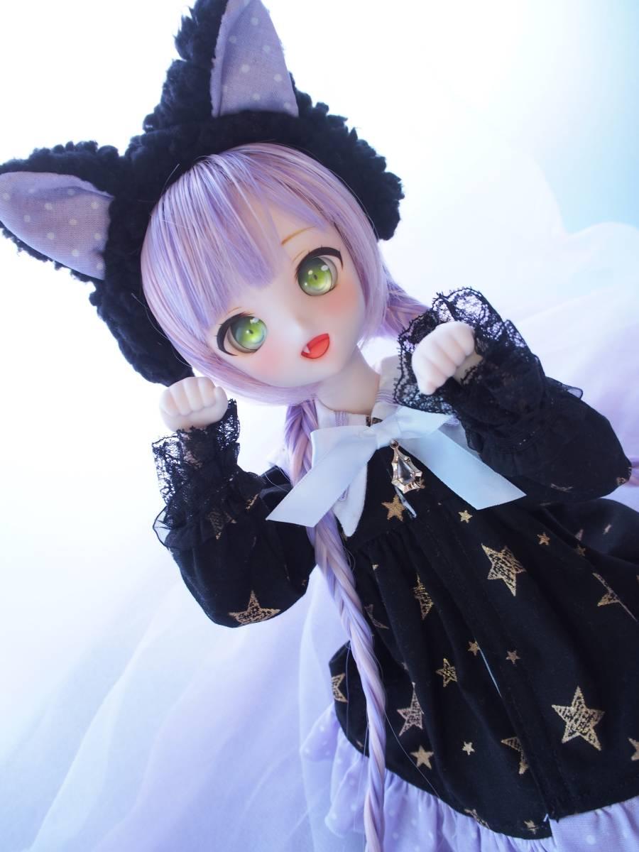 【Miel☆Magical】DDH-10 セミホワイト肌 カスタムヘッド+アイ2点+お洋服Set_画像3