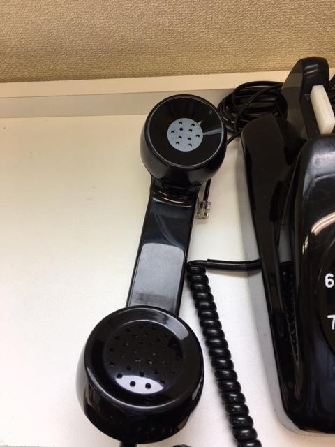 ジャンク 黒電話 601-A2_画像2