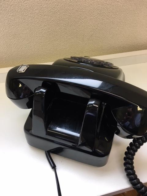 ジャンク 黒電話 601-A2_画像4