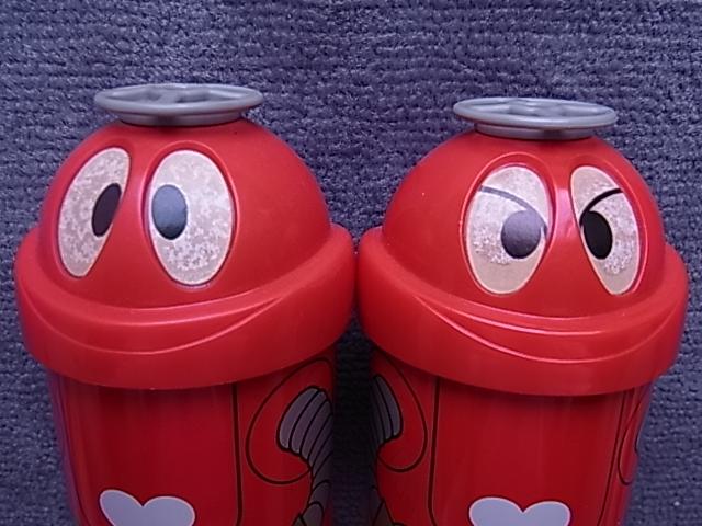 当時物!未使用品!◆がんばれ!!ロボコン 丸見屋 ロボコンふりかけ2個セット!◆検)激レア ブリキ空き缶 超合金ポピー ソフビ ロビンちゃん_画像3
