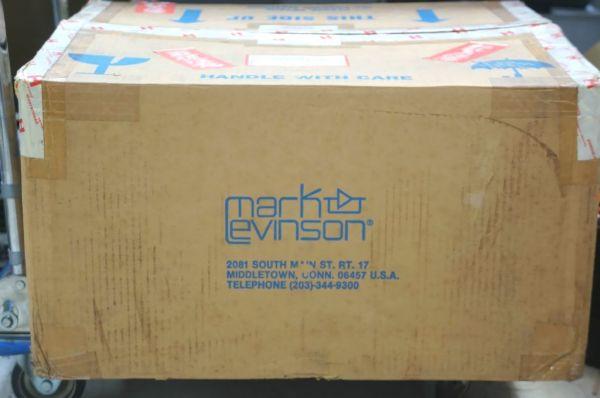 AA001サ】ジャンク MARK LEVINSON マークレビンソン No.23L パワーアンプ 正規品_画像3