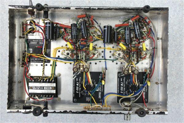 E77716】自作 真空管アンプ TANGO FW-100-5 MS-450D MC-1.5-500D タンゴトランス 大量 KT-88_画像4