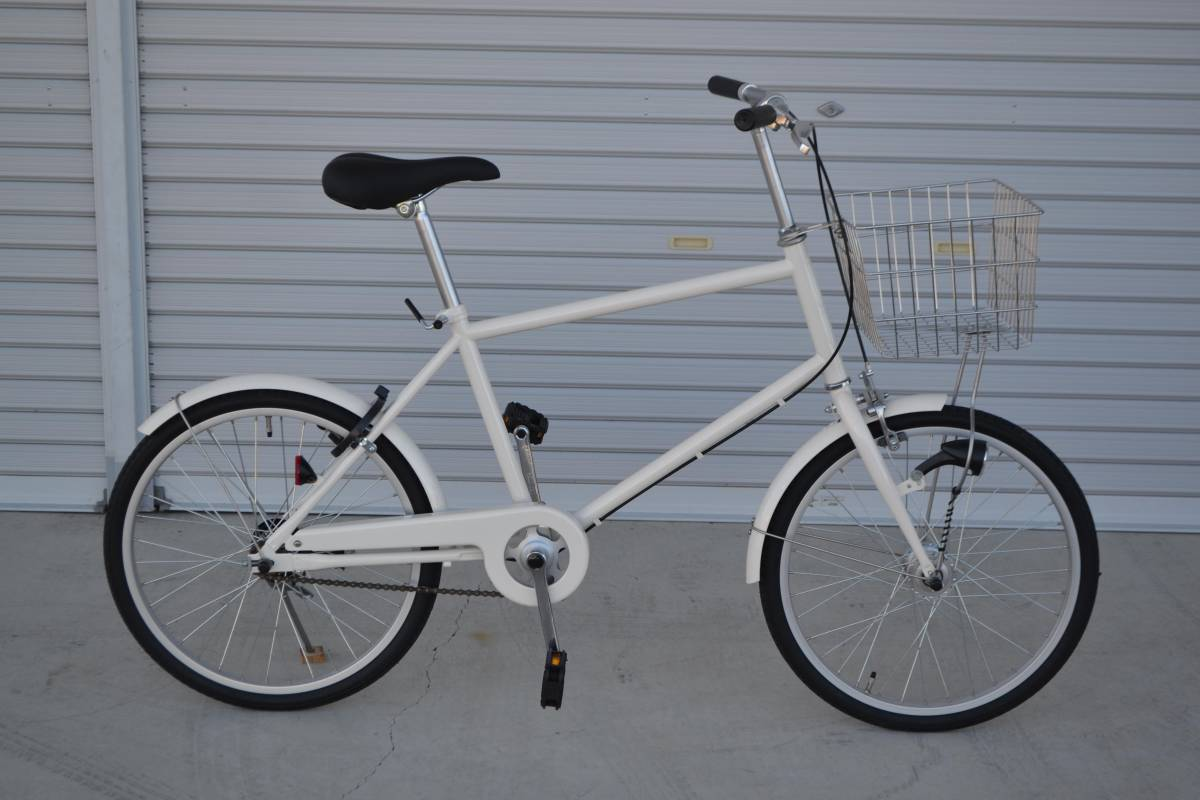 新品 未使用 無印良品 20インチ自転車 ミニベロ 個人出品 手渡し可_画像1