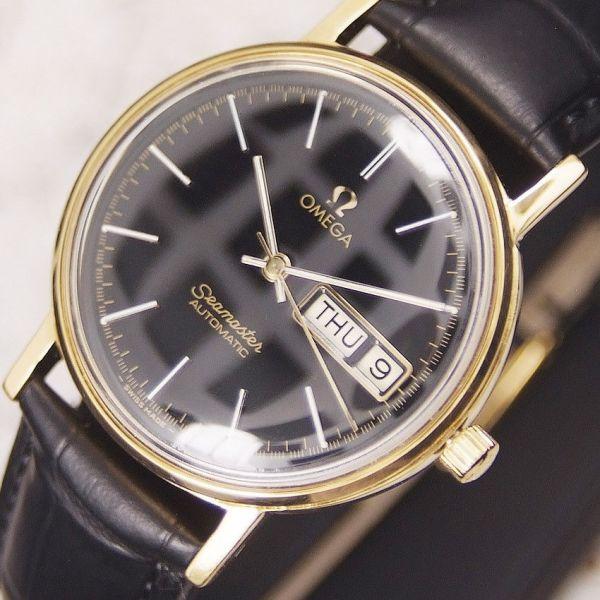 【☆新品仕上げ済み】オメガ シーマスター Cal.1020 ヴィンテージ アンティーク 自動巻き メンズ腕時計☆極上品