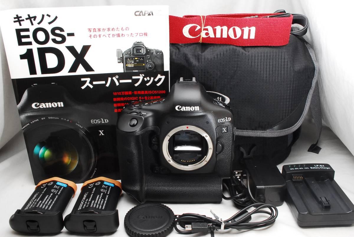 ★ほぼ新品★ Canon キャノン EOS-1D X ボディ EOS1DX カメラバッグ&マニュアル本のおまけ付! 通常使用における不具合は半年間保証します!