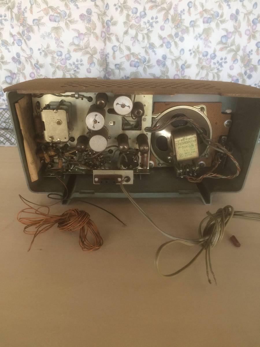 ナショナル古いラジオAX-340ジャンク_画像3