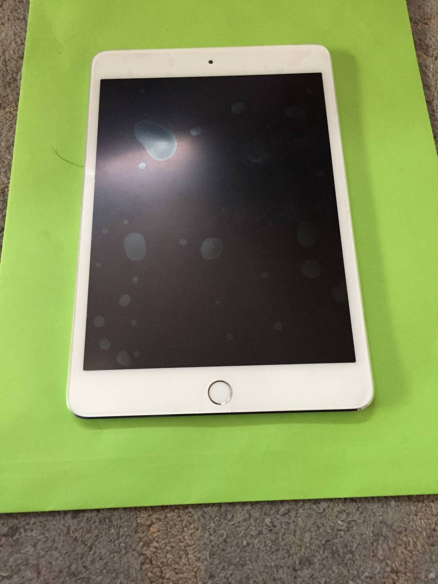 iPad mini4 Wi-Fi+Cellular シルバー 16GB ドコモ
