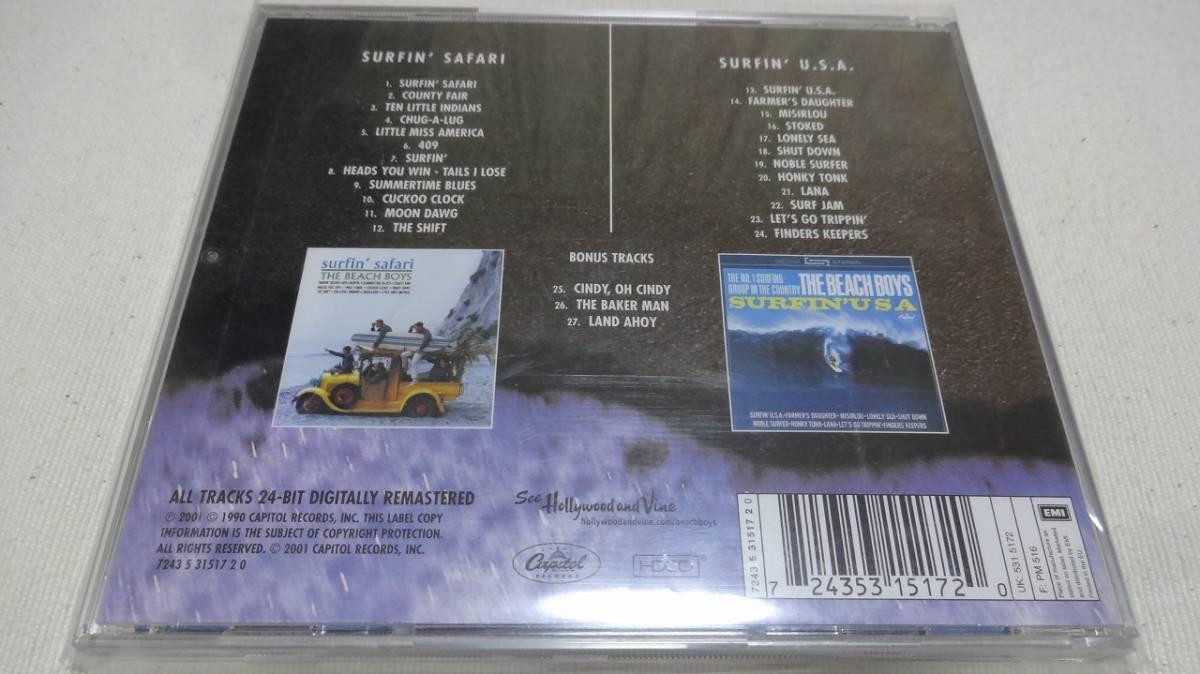 Beach boys ビーチボーイズ SURFIN' SURFIN' U.S.A CD