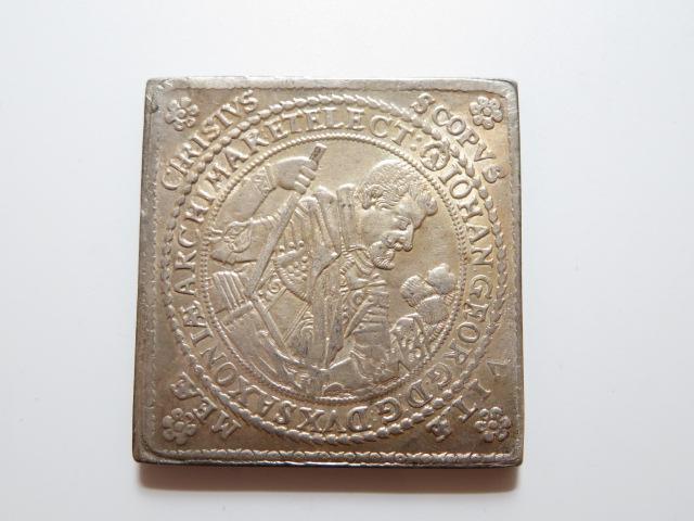 神聖ローマ帝国 銀貨 OMNIA AD METAM 量目:56.96g_画像1
