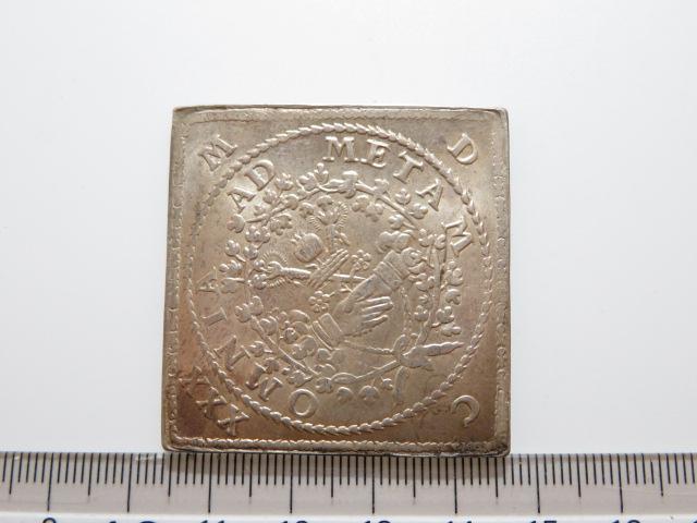 神聖ローマ帝国 銀貨 OMNIA AD METAM 量目:56.96g_画像2