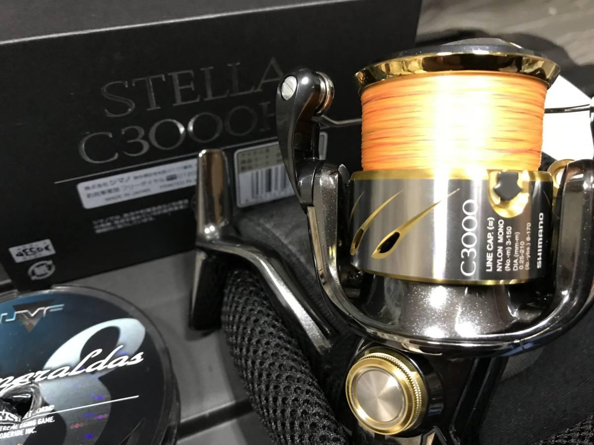 超美品 シマノ 14 ステラ C3000HG STELLA 送料込み ティップラン エギング 一つテンヤ_画像7