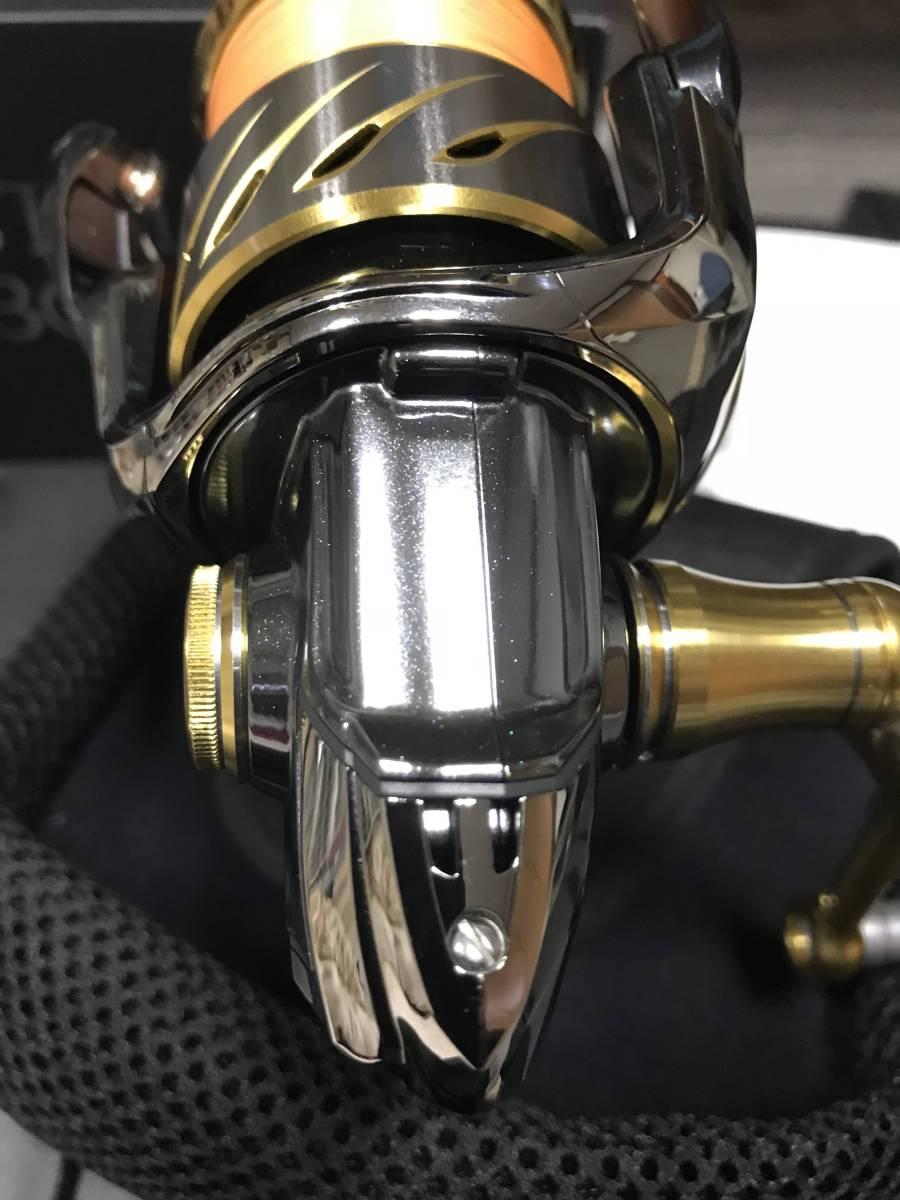 超美品 シマノ 14 ステラ C3000HG STELLA 送料込み ティップラン エギング 一つテンヤ_画像2