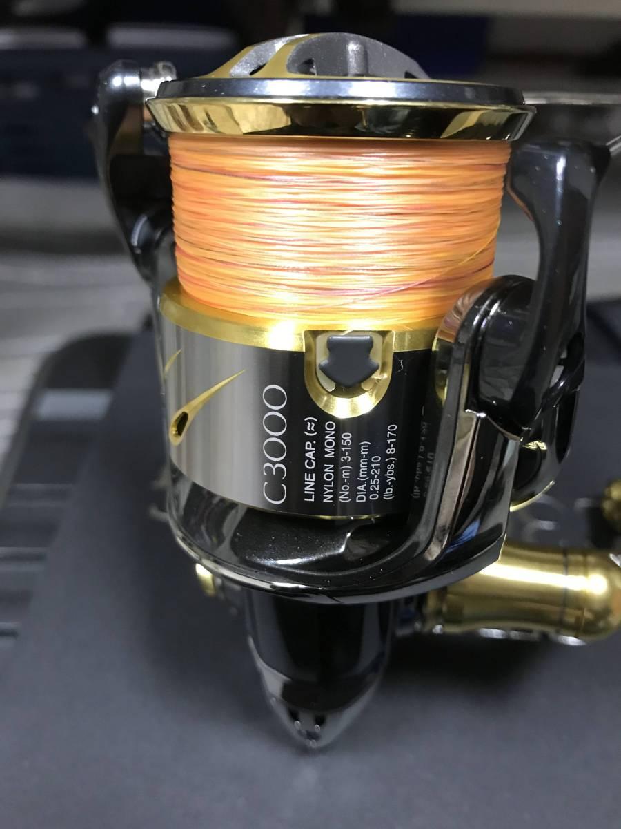 超美品 シマノ 14 ステラ C3000HG STELLA 送料込み ティップラン エギング 一つテンヤ_画像5