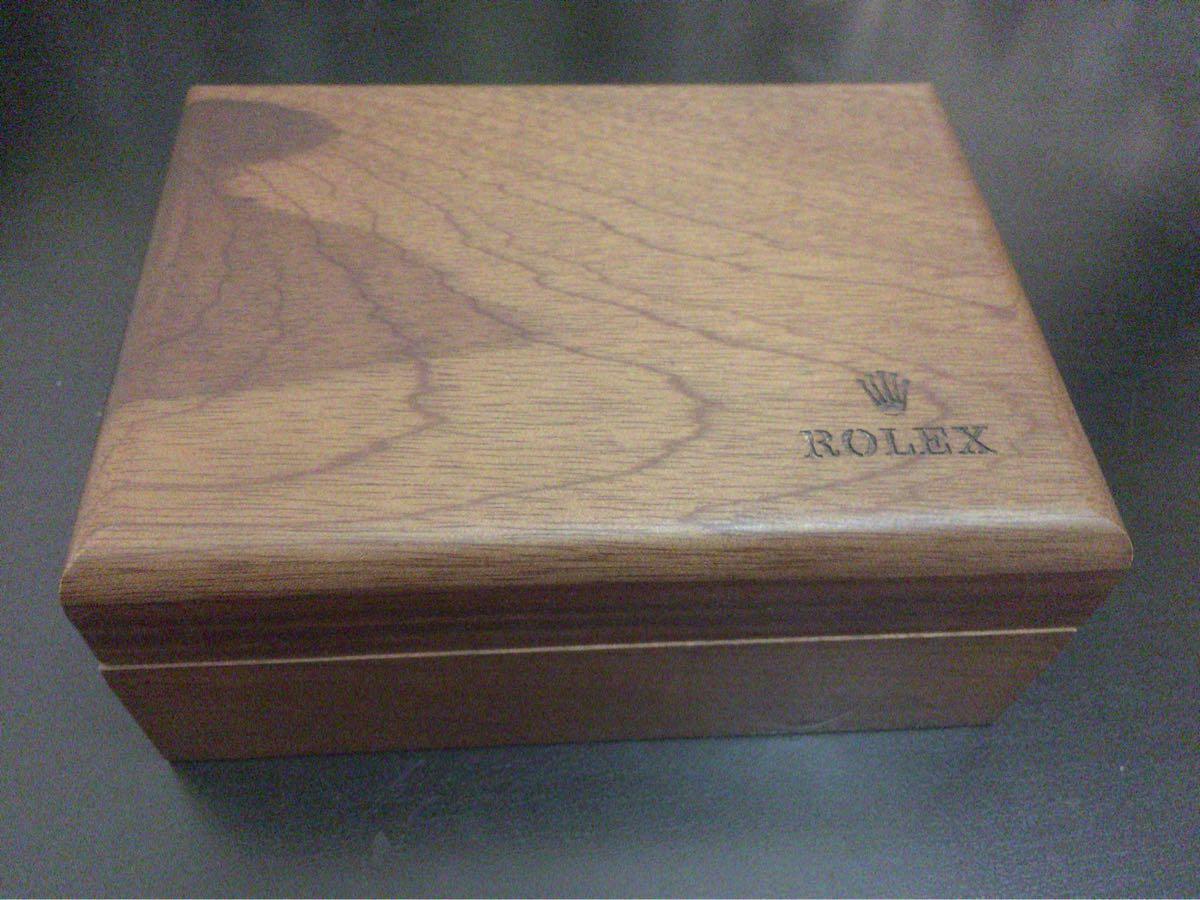 ロレックス ROLEX 空箱 木箱 ギャランティカード ギャラ クッション オイスターパーペチュアル 付属品