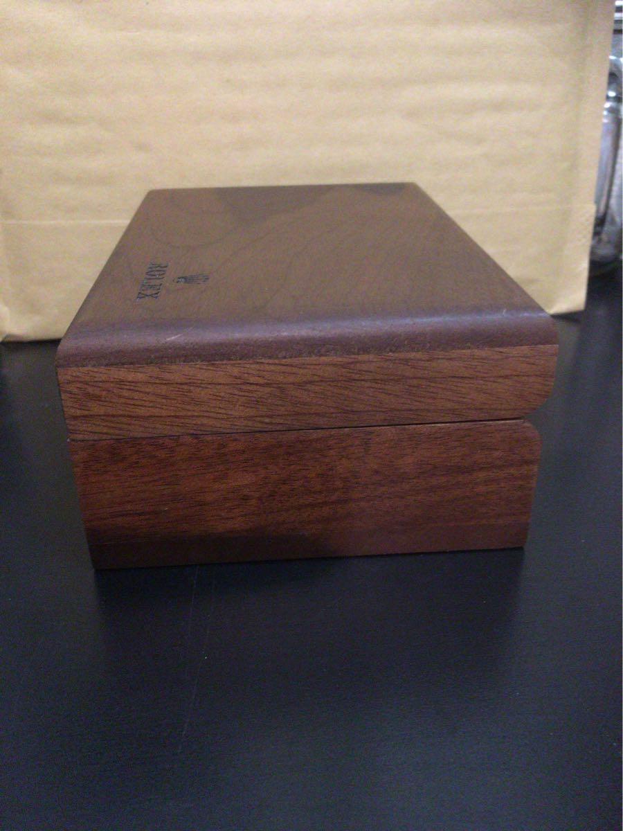 ロレックス ROLEX 空箱 木箱 ギャランティカード ギャラ クッション オイスターパーペチュアル 付属品_画像5