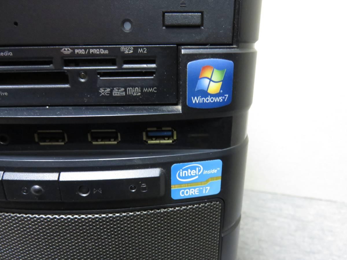 秒速起動 i7 第2世代 / 8GB / 新SSD256GB + 1000GB★自作PC★GTX 550Ti★Windows10★Office2016★ USB: 高速3.0★中古美品★値下げ。即決_画像9
