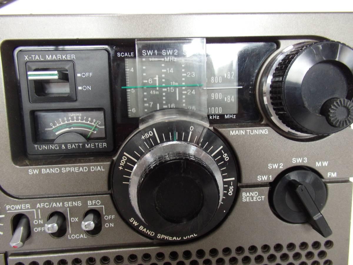 BCLラジオ SONY ソニー スカイセンサー ICF-5900_画像2