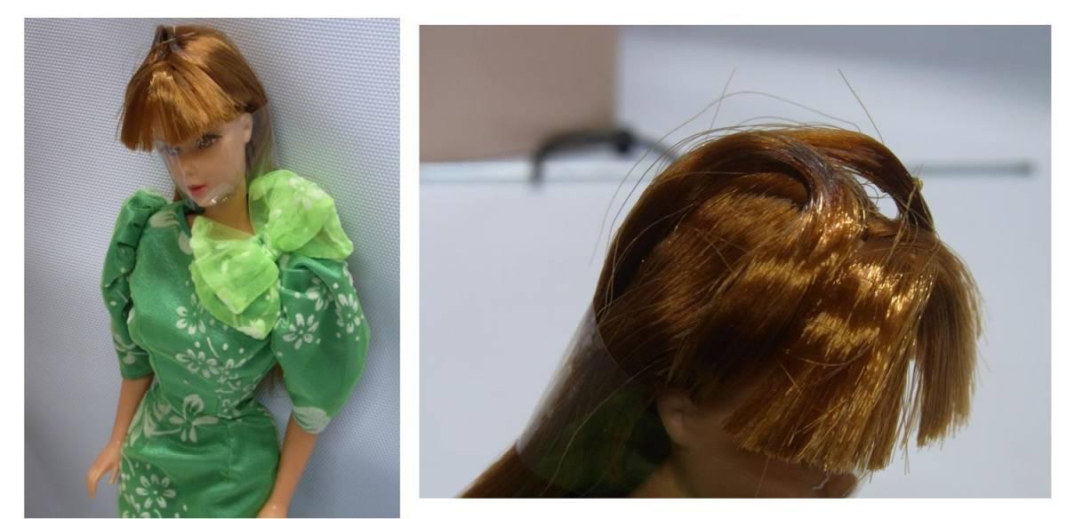 【希少】美品 バンダイ/マテル 1986年 日本製 マーバ バービー人形 箱付 Barbie クラシック ビンテージ アメリカンバービー 植毛まつげ_画像7