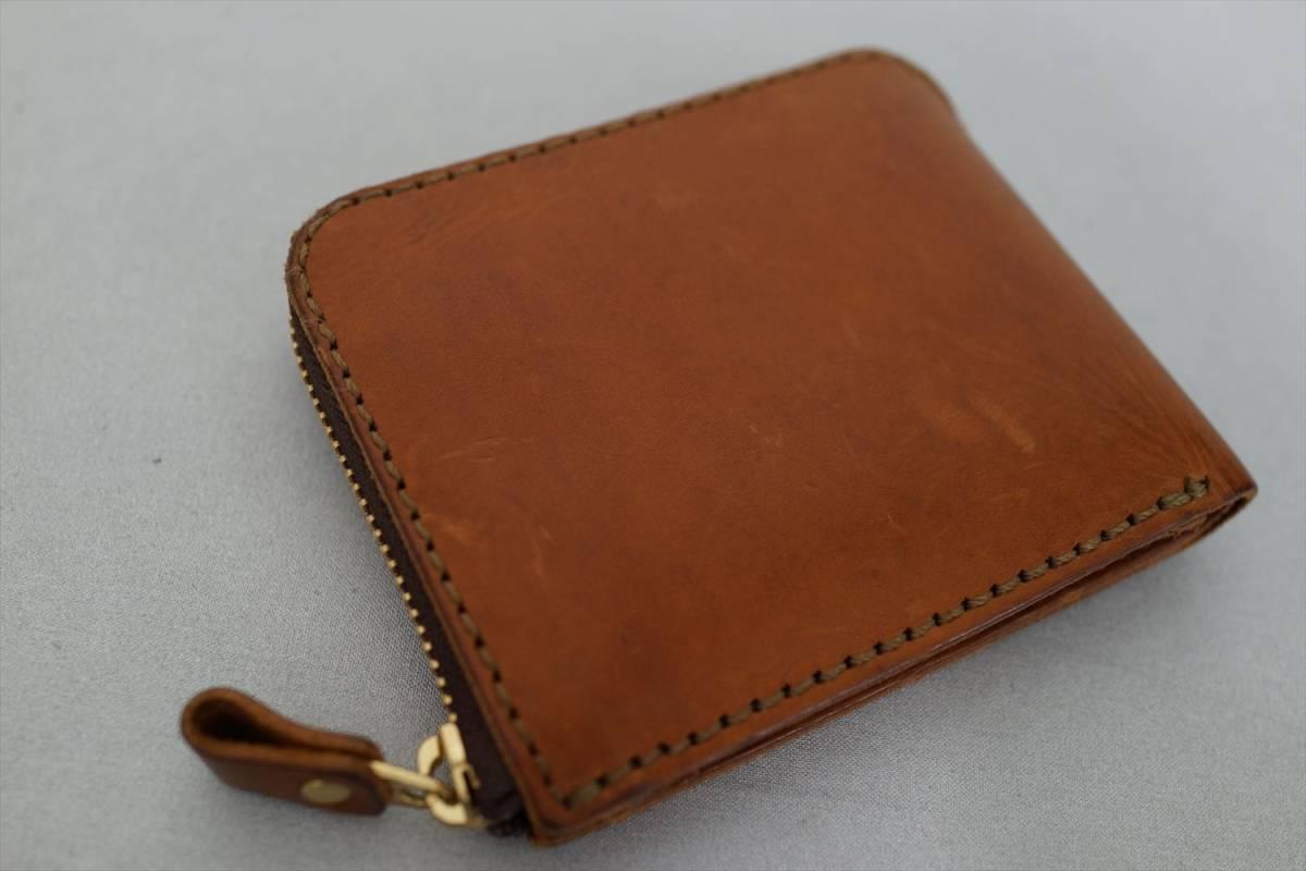 014d40cf23fa 代購代標第一品牌- 樂淘letao - HERZ Organオルガンラウンドファスナー二つ折り財布アンバー