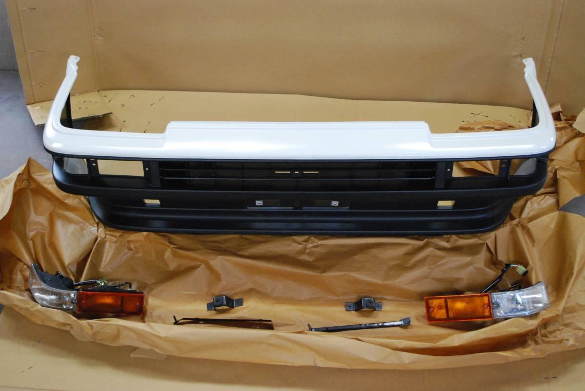 AE86 純正 新品 トレノ Frバンパー、ウインカーセット