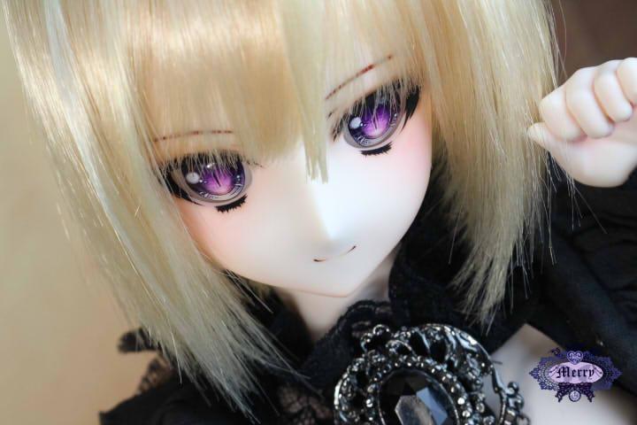 ◆merry◆DDH-7ホワイト肌カスタム・アイ_画像2