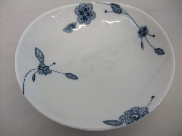 日本製 美濃焼  フルーベル まゆ型 14㎝  中鉢 シンプルモダン  _画像1