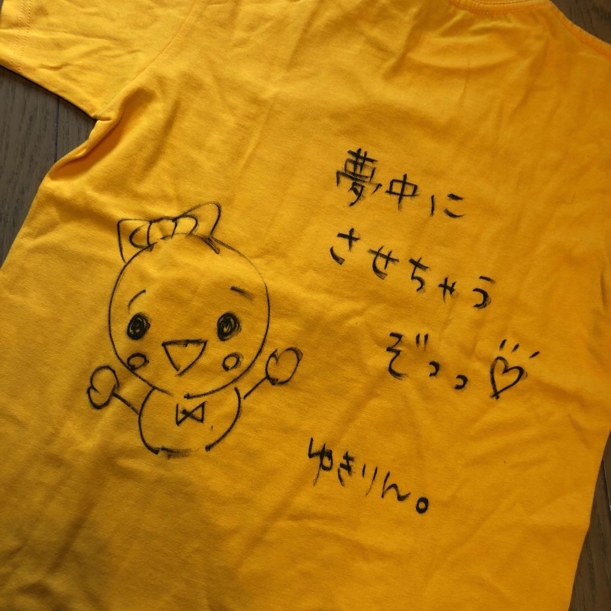 NMB48 トレーディングコレクション Bコース 直筆サイン入りTシャツ☆柏木由紀☆ AKB48