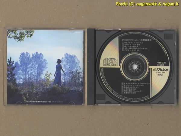 ★即決★ 246コネクション / 荻野目 洋子 - 7枚目アルバム。「湾岸太陽族」、「さよならの果実たち」がアルバム用アレンジで収録_画像3