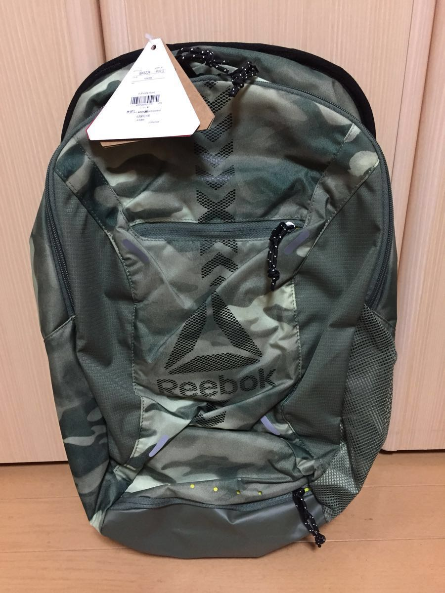 new goods unused Reebok backpack rucksack camouflage camouflage rez Mill z  less Mill zlesmills