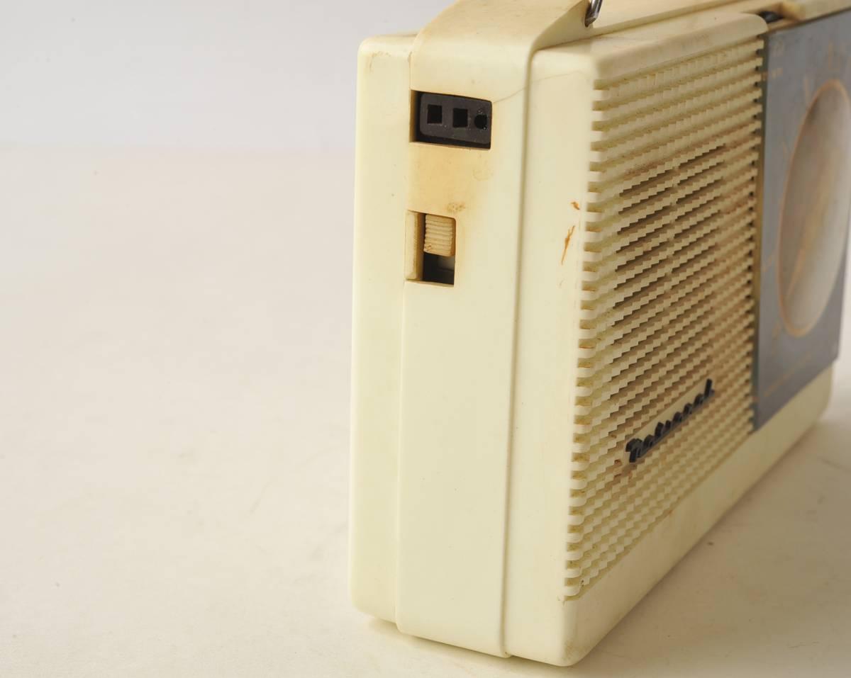 松下電器 ナショナル ポータブルラジオ MODEL 4W-260 ジャンク品_画像7