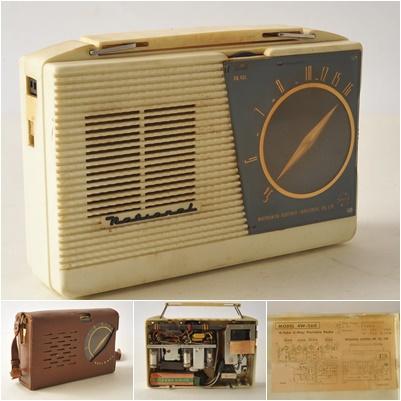 松下電器 ナショナル ポータブルラジオ MODEL 4W-260 ジャンク品