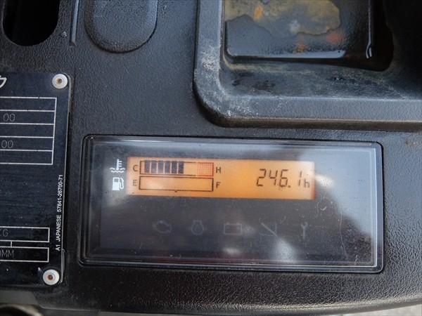 ◆トヨタフォークリフト ジェネオ 1トン 揚高3m ガソリン車 8FG10 ソリッドタイヤ オートマ 広島発<チャーター便>引取歓迎♪_画像9
