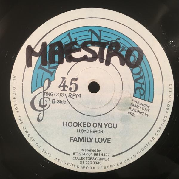 ★Family Love/Hooked On You★LOVERS ROCK!_画像2