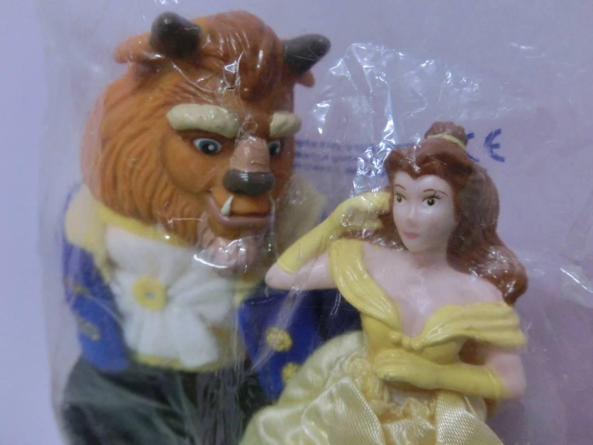 ディズニー 美女と野獣◆USA マクドナルド ベル&ビースト ミールトイ フィギュア 1992 ハッピーミール◆Disney beauty and the beast_画像2