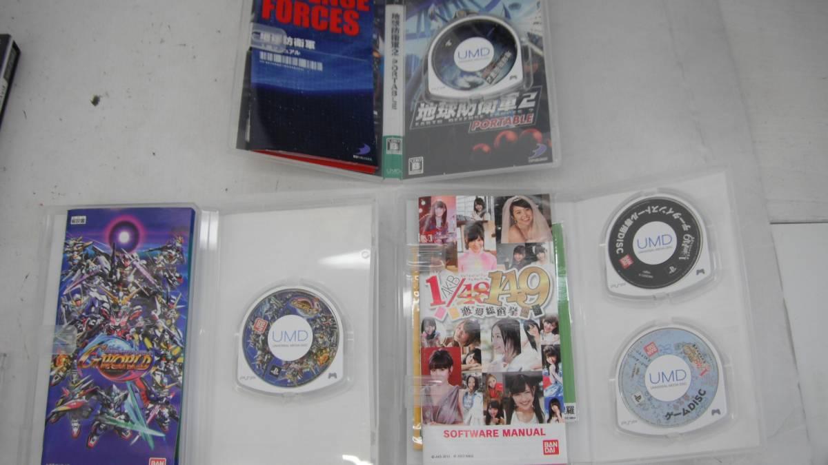 26■100/ PSPソフト 80本 ジャンク_画像8